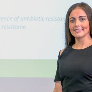 Kingston University PhD student presents antimicrobial resistance thesis in three minutes for international competition