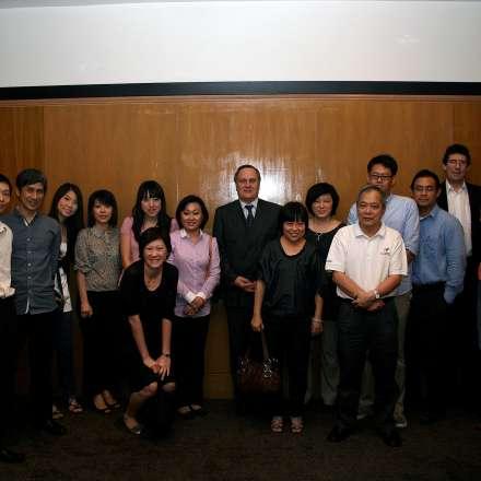 Singapore alumni dinner, 2011