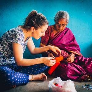 Kingston University student volunteers tackle child poverty in India in project sponsored by Lebara Foundation