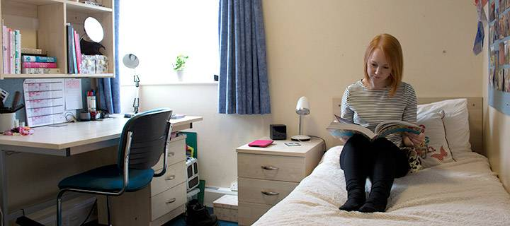 Halls accommodation guarantee