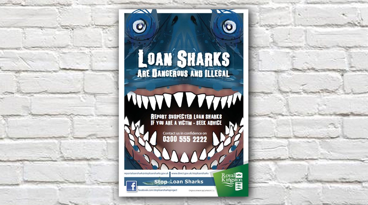 Kingston University student wins council design competition to combat loan sharks