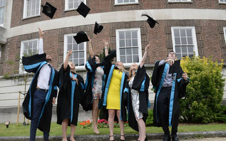 Graduation ceremonies shine spotlight on achievement and dedication of Kingston University students