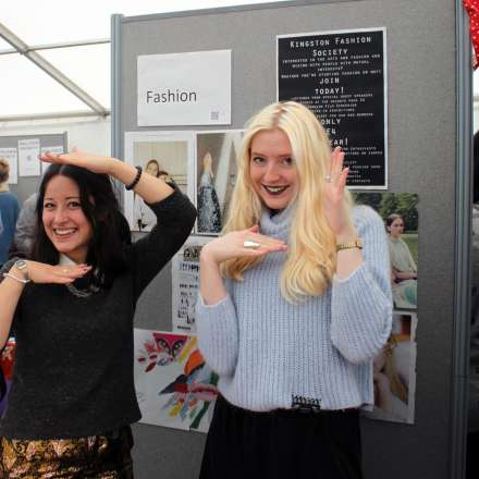 Students at the students' union freshers event