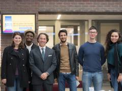 Economics alumnus Stefano Ciampolini returns to campus to share his insights into entrepreneurship in the healthcare industry