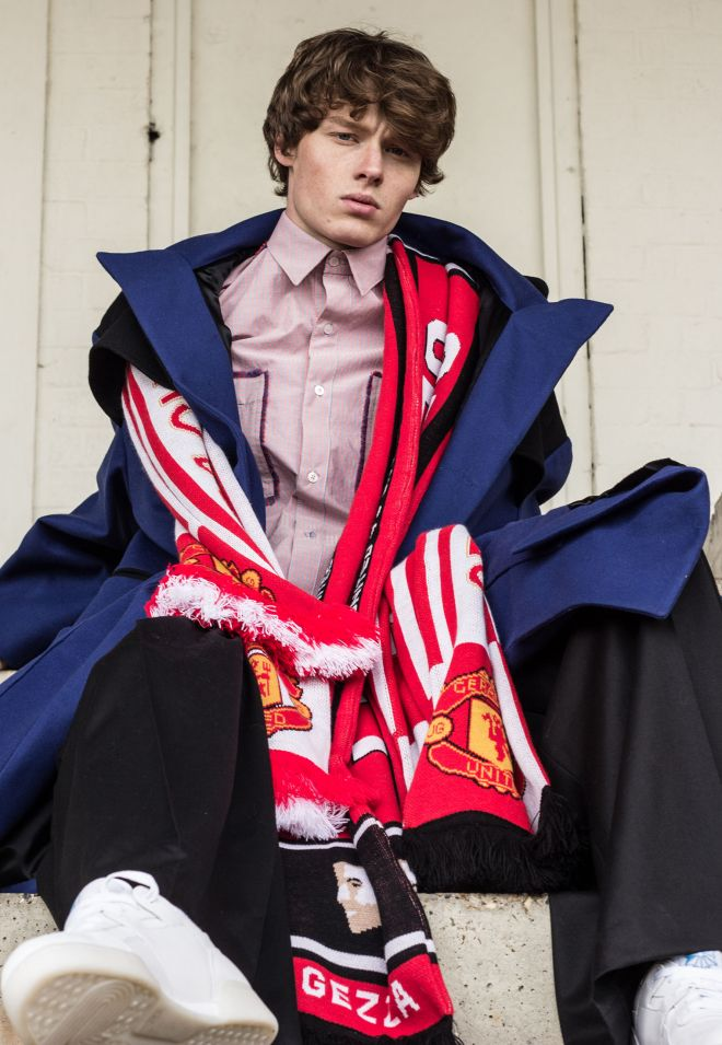 James Geraghty\'s designs are inspired by fans\' devotion to their football clubs