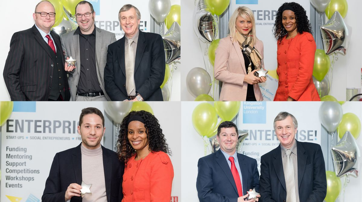 Ingenious ideas and innovative approaches applauded at Kingston University's annual Celebrate Enterprise awards