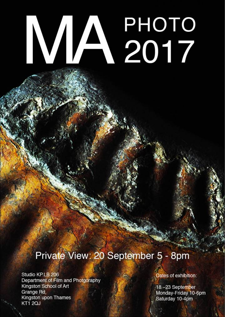 Photography MA Graduation Show 2017