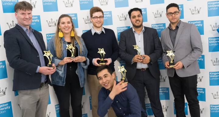 Pioneering Kingston University staff and students lauded for their achievements at Celebrate Enterprise Awards