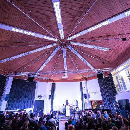 The 300m sq octagonal live room at our new analogue Visconti Studio