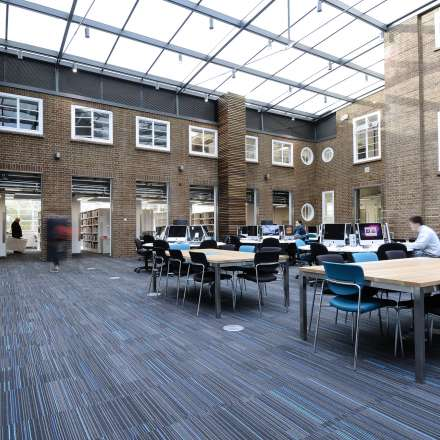 Learning Resources Centre at Knights Park campus