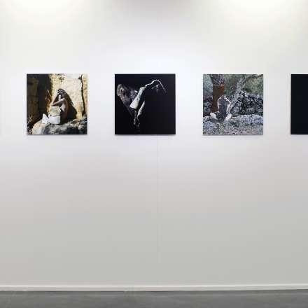 Susan Benson, Return to Dust, installation view, 2017