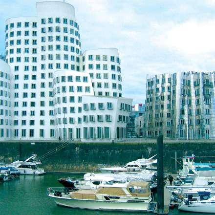 Dusseldorf - Media port - Medienhafen