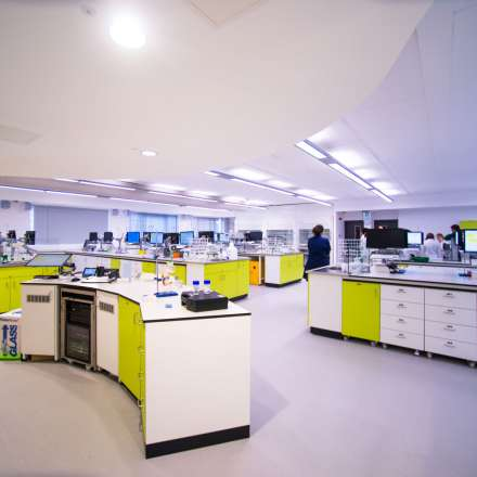 Laboratory in Faculty of Science, Engineering and Computing