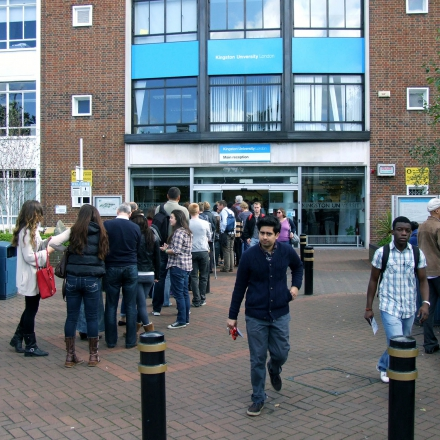 Penrhyn Road campus main entrance
