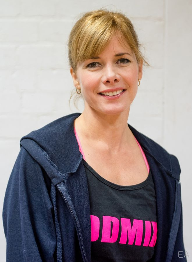 Former ballerina Darcey Bussell shared her passion for health and fitness during an hour-long dance class at Kingston University.