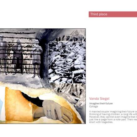 Vanda Siegel, Imagine their future (collage)