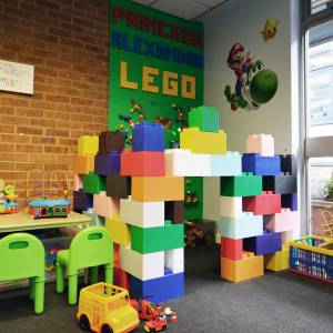 Kingston University graduate revamps hospital waiting room with 11kg of Duplo Lego to bring colour and positivity to patients