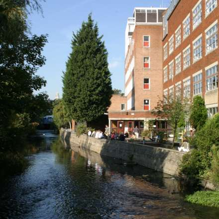 Our Knights Park campus is based on the Hogsmill River