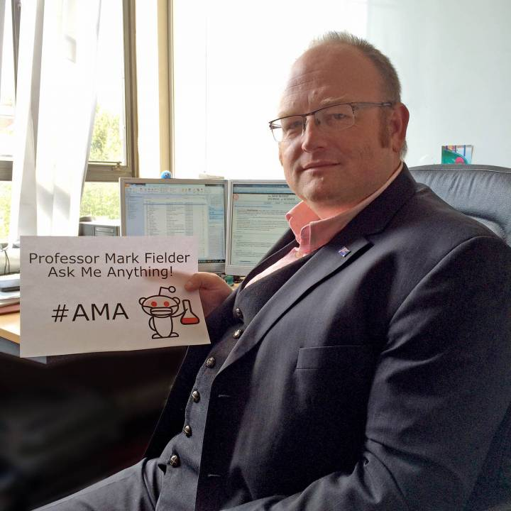 Professor Mark Fielder's reddit AMA - Questions on Ebola, antibiotic resistance and how to pursue a career in microbiology