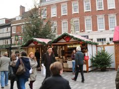 Grand opening of the Kingston Christmas Market
