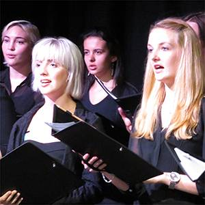 Kingston University singers and musicians hit a high note at the Edinburgh Festival Fringe