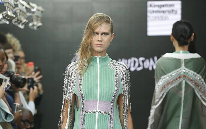 Kingston University MA Fashion students showcase fresh design talent on eve of London Fashion Week