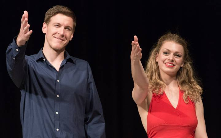 Kingston University student Oliver Horsfall wins top award at the International Youth Arts Festival 2015 for play The Edge