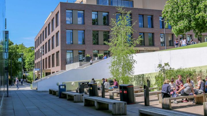 Take a virtual tour of Kingston University