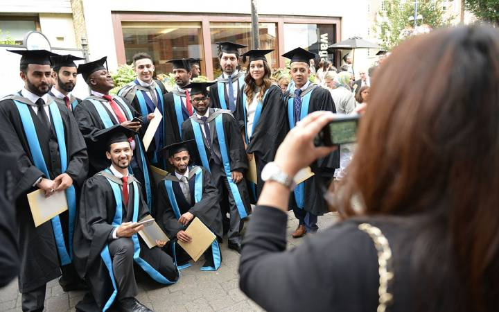 Kingston University celebrates the success of research, postgraduate and undergraduates at graduation ceremonies