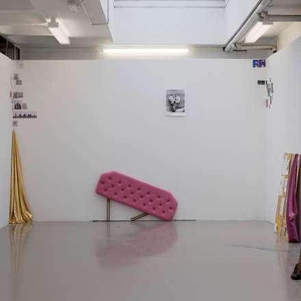 Installation view, Karina Holland, Untitled 2015