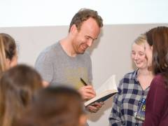 Author Matt Haig captivates audience with views on writing, reading and what it means to be human as part of Kingston University's Big Read project
