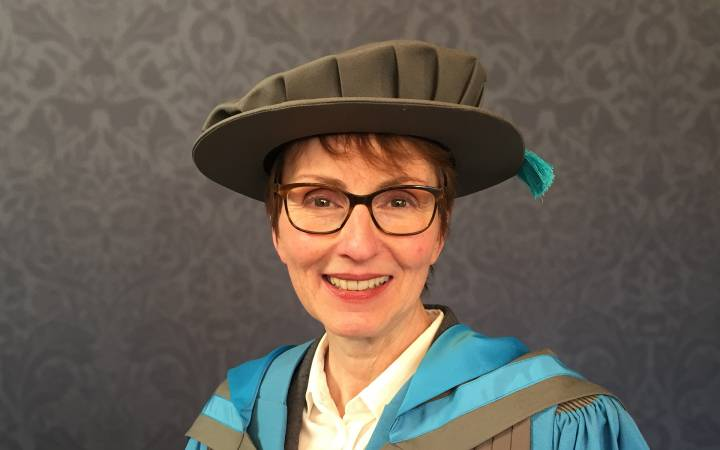 Astronaut Dr Helen Sharman named Honorary Doctor of Science by Kingston University
