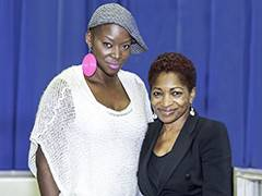 Telling stories with Kingston University Chancellor Bonnie Greer as she awards prize in new short story competition