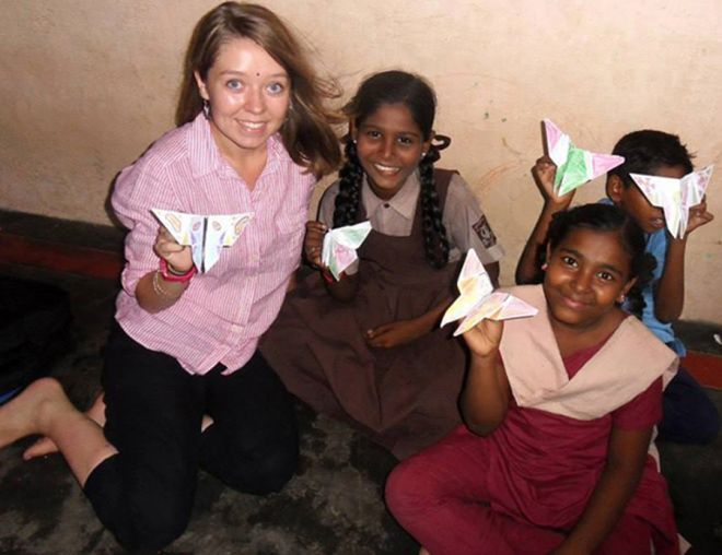 MA English Literature student Jessica Farrugia cherishes memories of the children she worked with during the Lebara Foundation-sponsored visit to India.