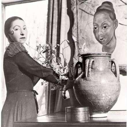 Photograph of Dora Gordine, 1939