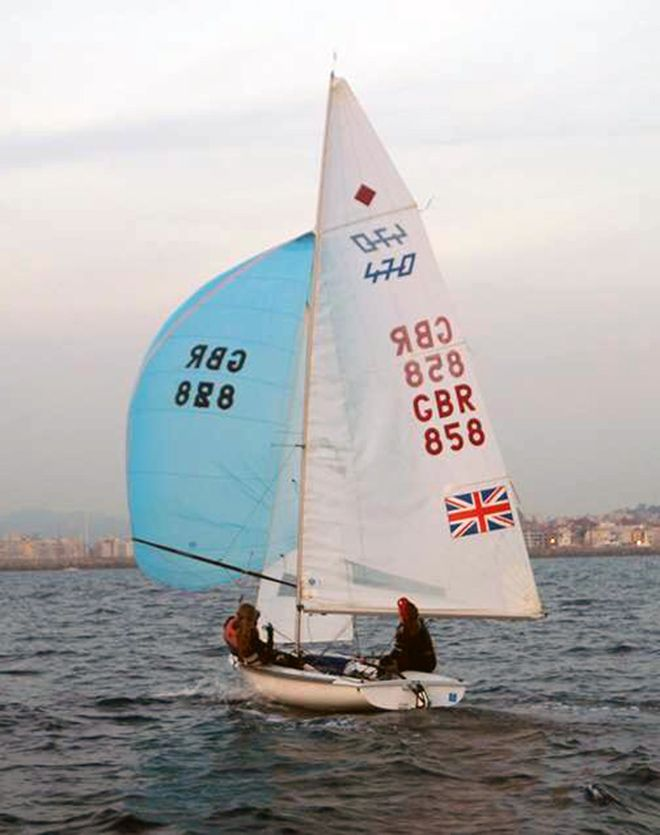 Kingston University student Georgia Booth sailing for Great Britain