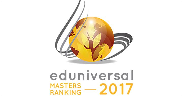 Kingston Business School MSc programmes rated in top 100 globally by Eduniversal Best Masters Ranking