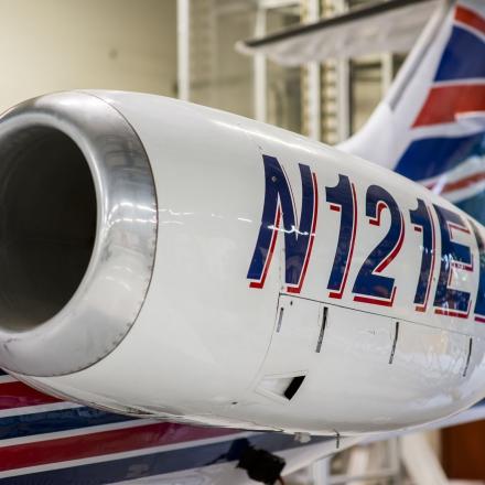 Lear Jet hangar