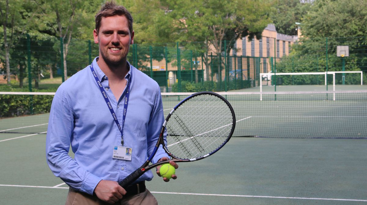 Kingston University lecturer's sport and exercise psychology expertise informs pioneering programme to nurture Wimbledon stars of the future