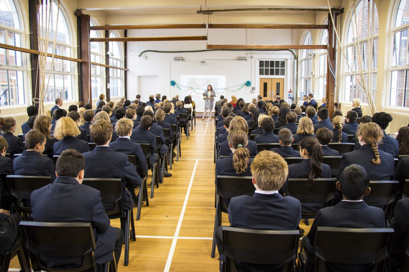The Kingston Academy\'s first cohort come together for the official opening ceremony