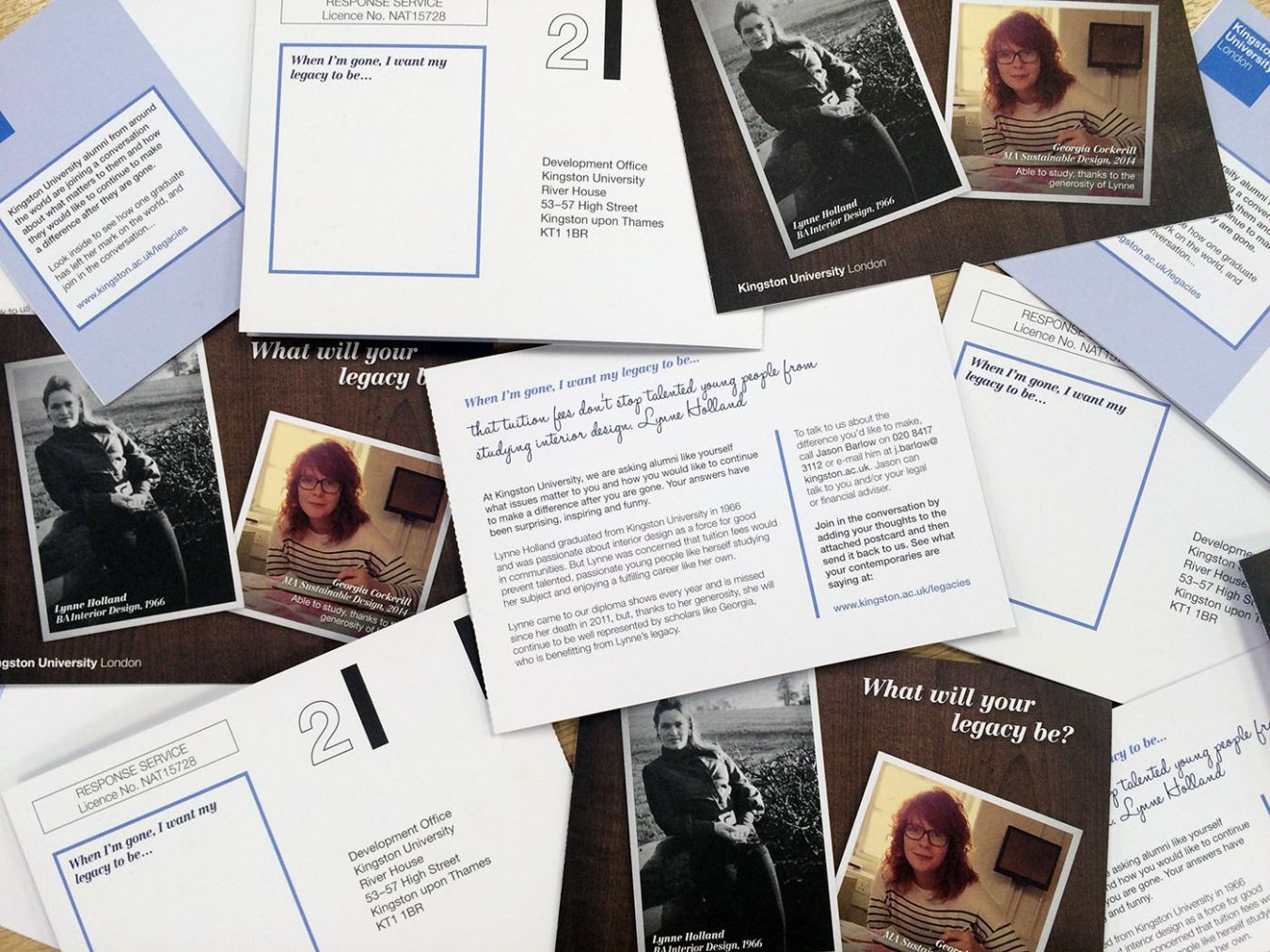 Kingston University has been asking its alumni how they want to be remembered as part of a new legacy campaign.