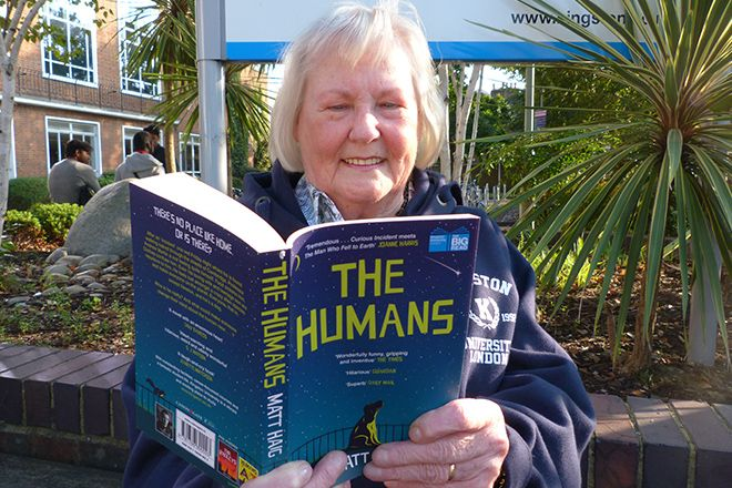 Hilary Chalkly gets stuck into the Big Read book The Humans by Matt Haig