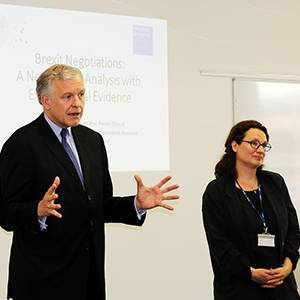 Austrian ambassador commends Kingston Business School Brexit negotiations research at launch seminar