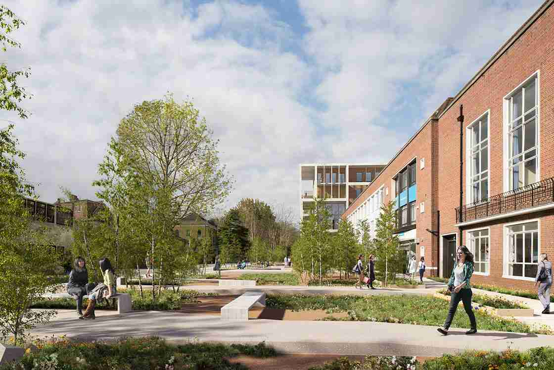 Architecture and Kingston University's Town House