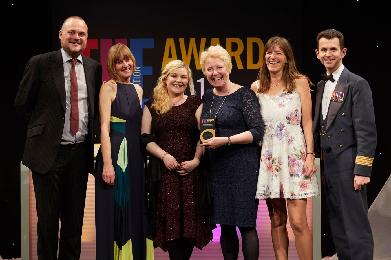THE Awards 2017 Widening Participation or Outreach Initiative of the Year