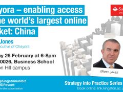 Strategy into Practice: Chayora – enabling access to the world's largest online market: China