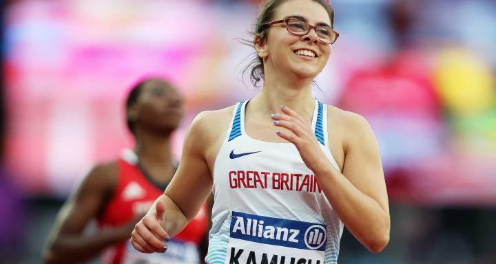 Kingston University student Sophie Kamlish sets new world record and wins T44 100m gold medal at World Para Athletics Championships
