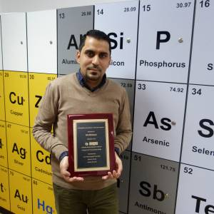 Kingston University student receives international research excellence award in pharmaceutical science