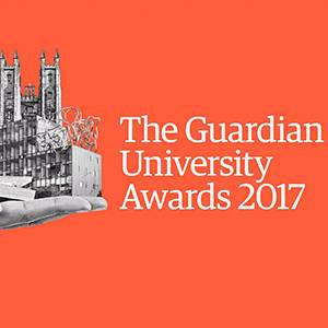 Kingston University shortlisted for 2017 Guardian University Teaching Excellence Award