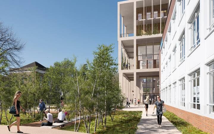 New £55m landmark building at Kingston University's Penrhyn Road campus gets go ahead